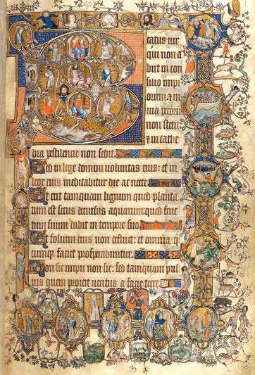 Beatus Seite-Psalm 1