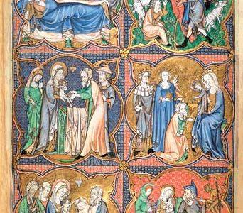 Szenen aus der Kindheit Christi