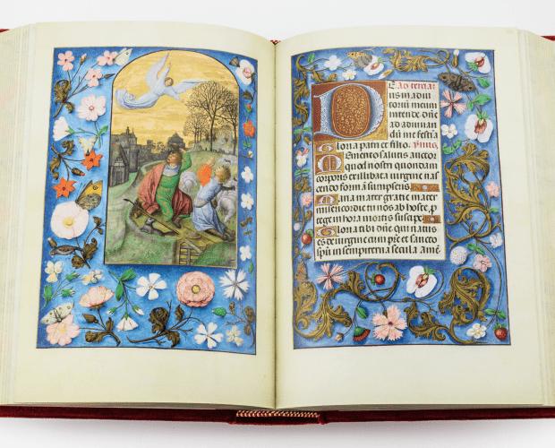 Isabella von Kastilien, Stundenbuch, flämische Meister, book of hours