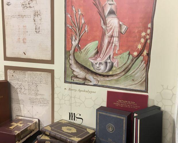 FBM 2019, Frankfurter Buchmesse, Messestand, Apokalypse, Berry-Apokalypse, Leonardo da Vinci, Manuskript A, Pariser Manuskripte