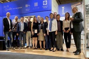FBM 2019, Frankfurter Buchmesse, Faksimile Verlag, Verlag Müller und Schindler, Eikon Ediitores, Team, Mitarbeiter und Freunde