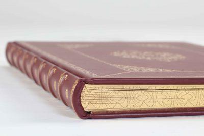 Goldschnitt, Cover, Einband, Cellarius Himmelsatlas, Faksimile