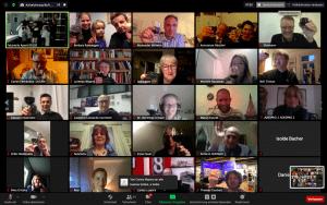 zoom online meeting Gallerieansicht aller Teilnehmer